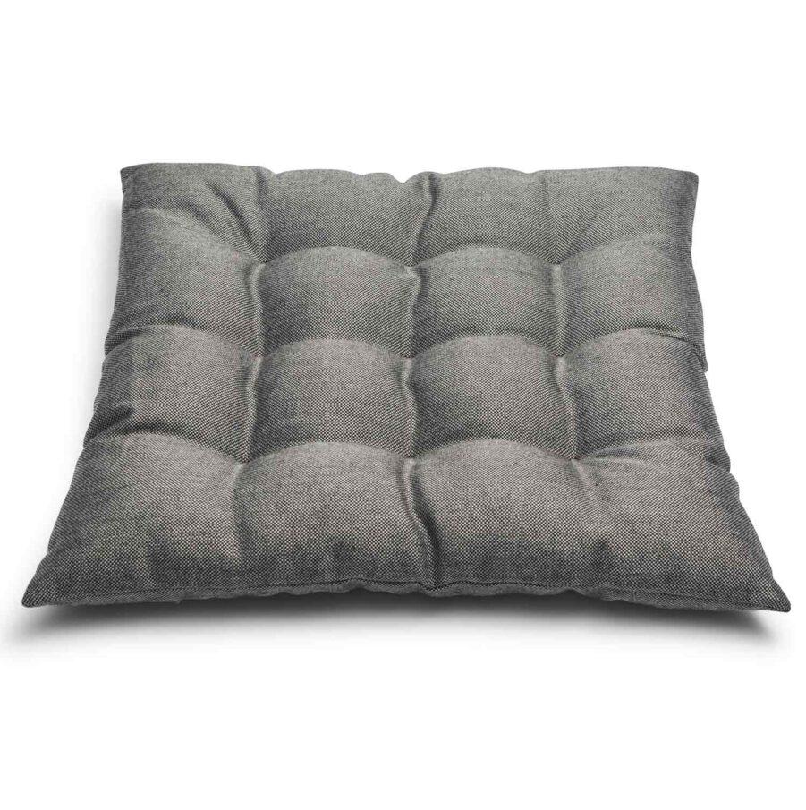 Kapok sittdyna i ljusgrått från Skagerak.