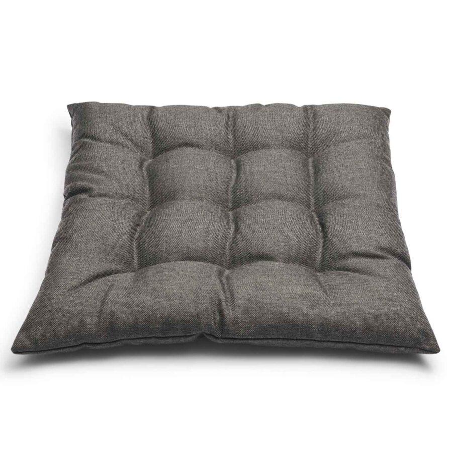 Kapok sittdyna i mörkgrått från Skagerak.