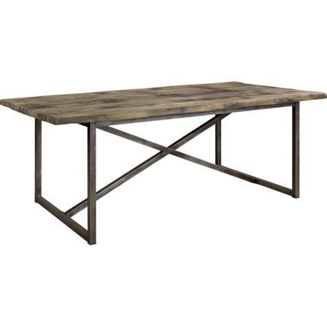 Axel matbord i återvunnen teak med järn stativ från Artwood.