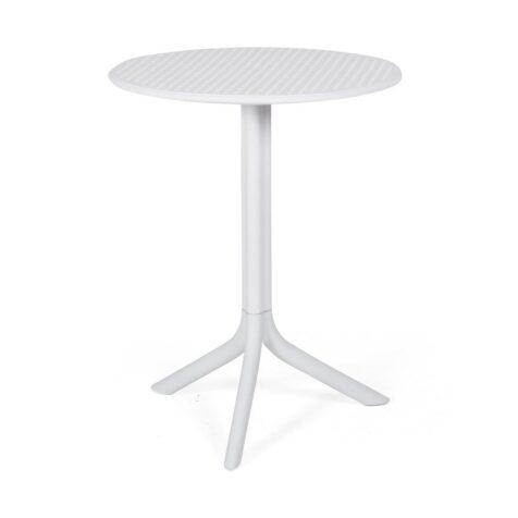 Step bord i vitt.