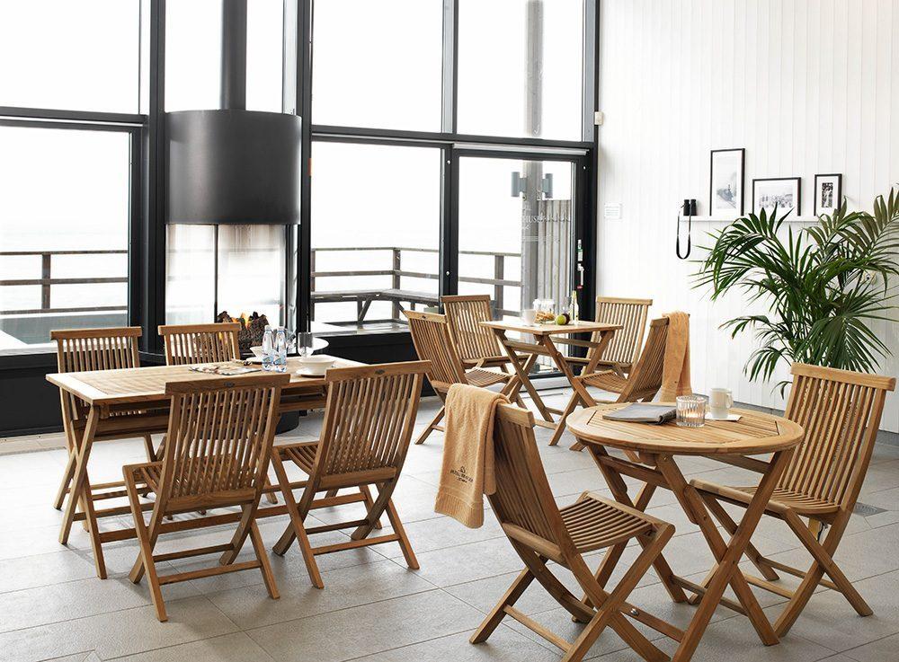 Turin matgrupper i en restaurang.