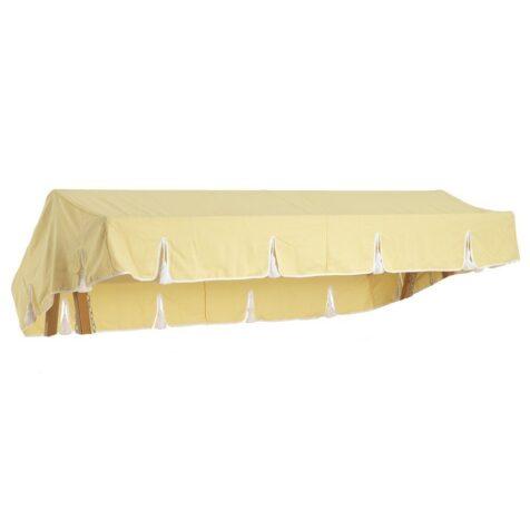 Hammocktak i gult från Fri Form.