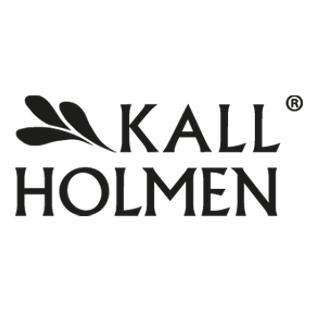Logotyp för varumärket Kallholmen.