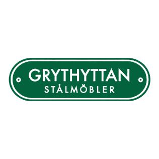 Logotyp för varumärket Grythyttan Stålmöbler.