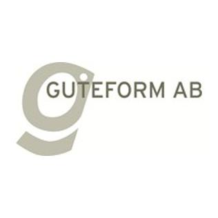 Logotyp för varumärket Guteform.