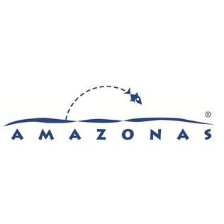 Logotyp för varumärket Amazonas.