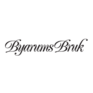 Logotyp för varumärket Byarums Bruk.