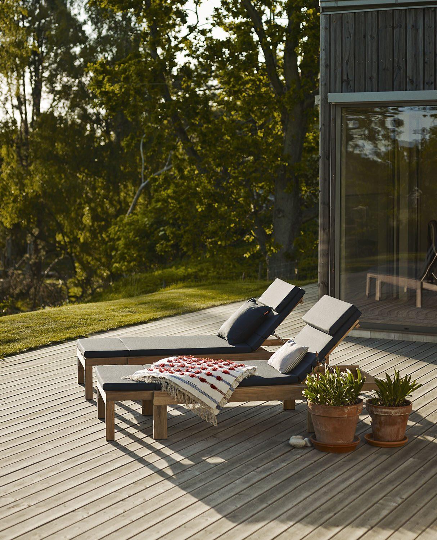 Riviera solsäng i Stora Hult.