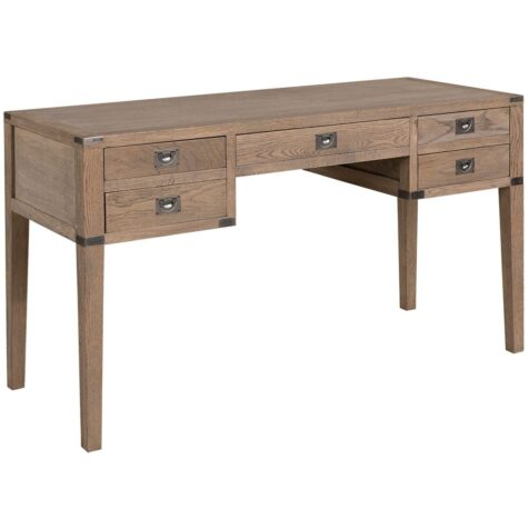 Vermont skrivbord i weathered oak från Artwood.