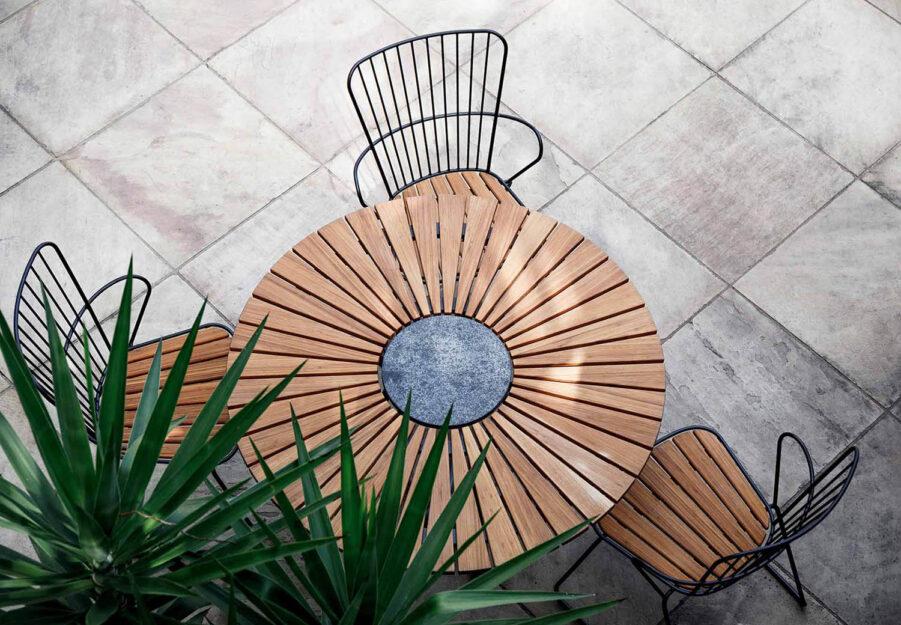 Houe Click stol och Circle bord