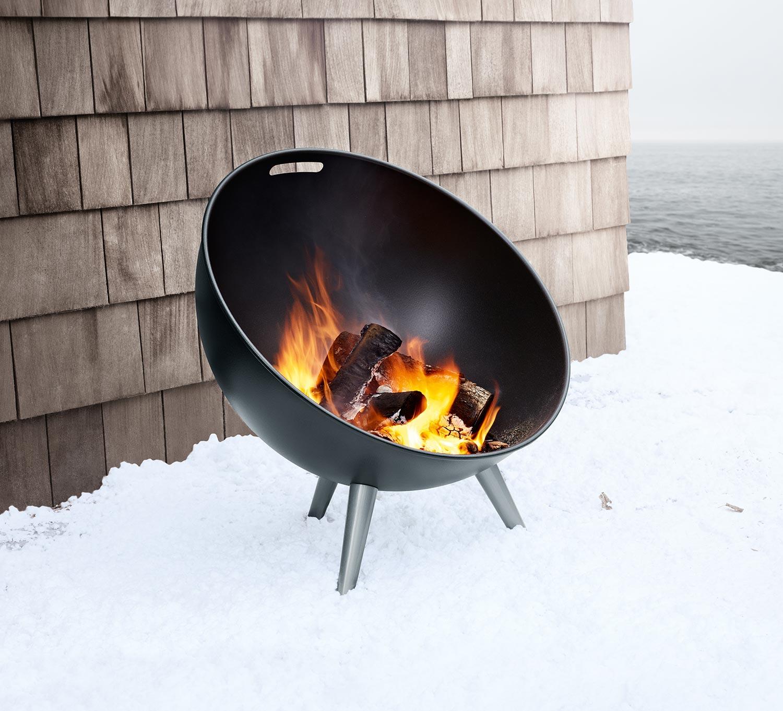 FireGlobe från Eva Solo på vintern.