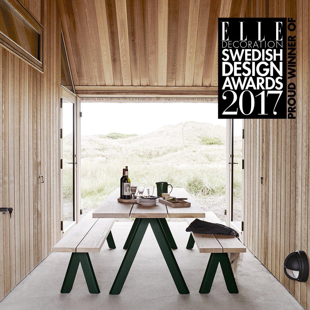 Overlap miljöbild Elle Decoration Swedish Design Awards 2017.