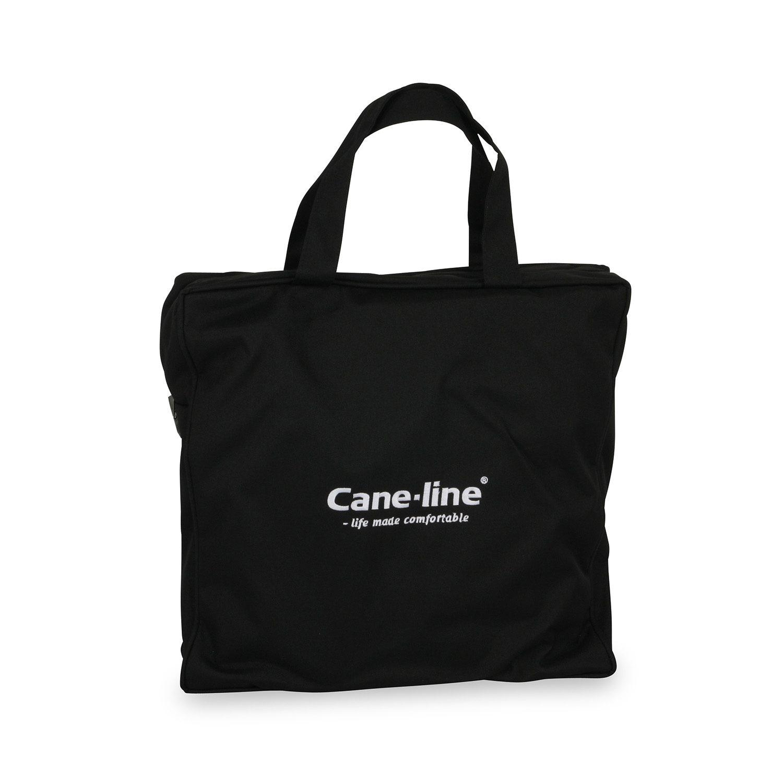 Väska till Cane-Lines möbelskydd i svart polyester.