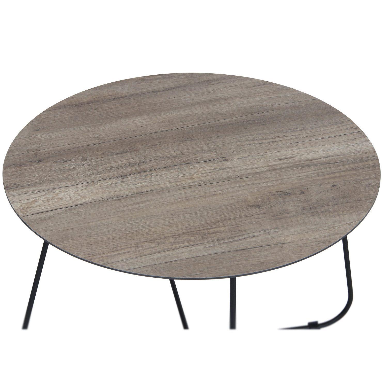 Rund bordsskiva i serien Taverny från Brafab.