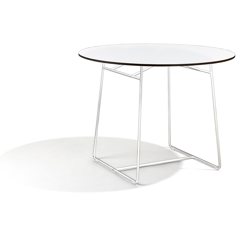 Resö bord i vitt med diametern 100 cm.