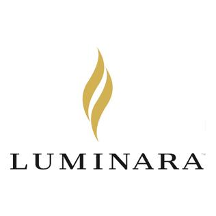 Logotyp från varumärket Luminara.
