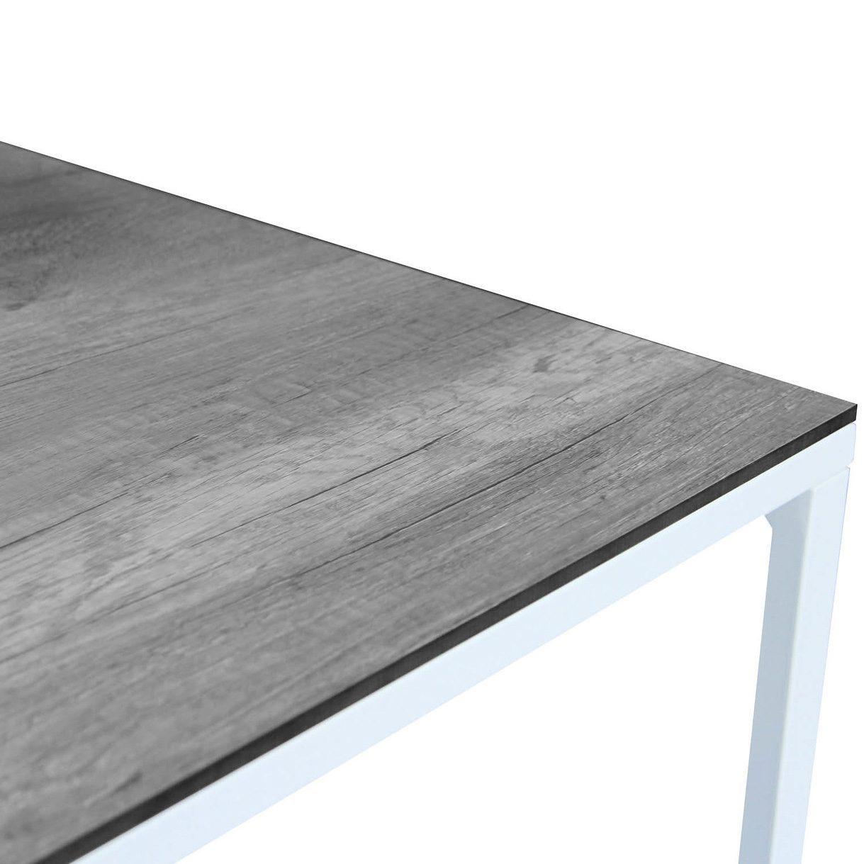 Talance-bordsskiva i grått från Brafab.