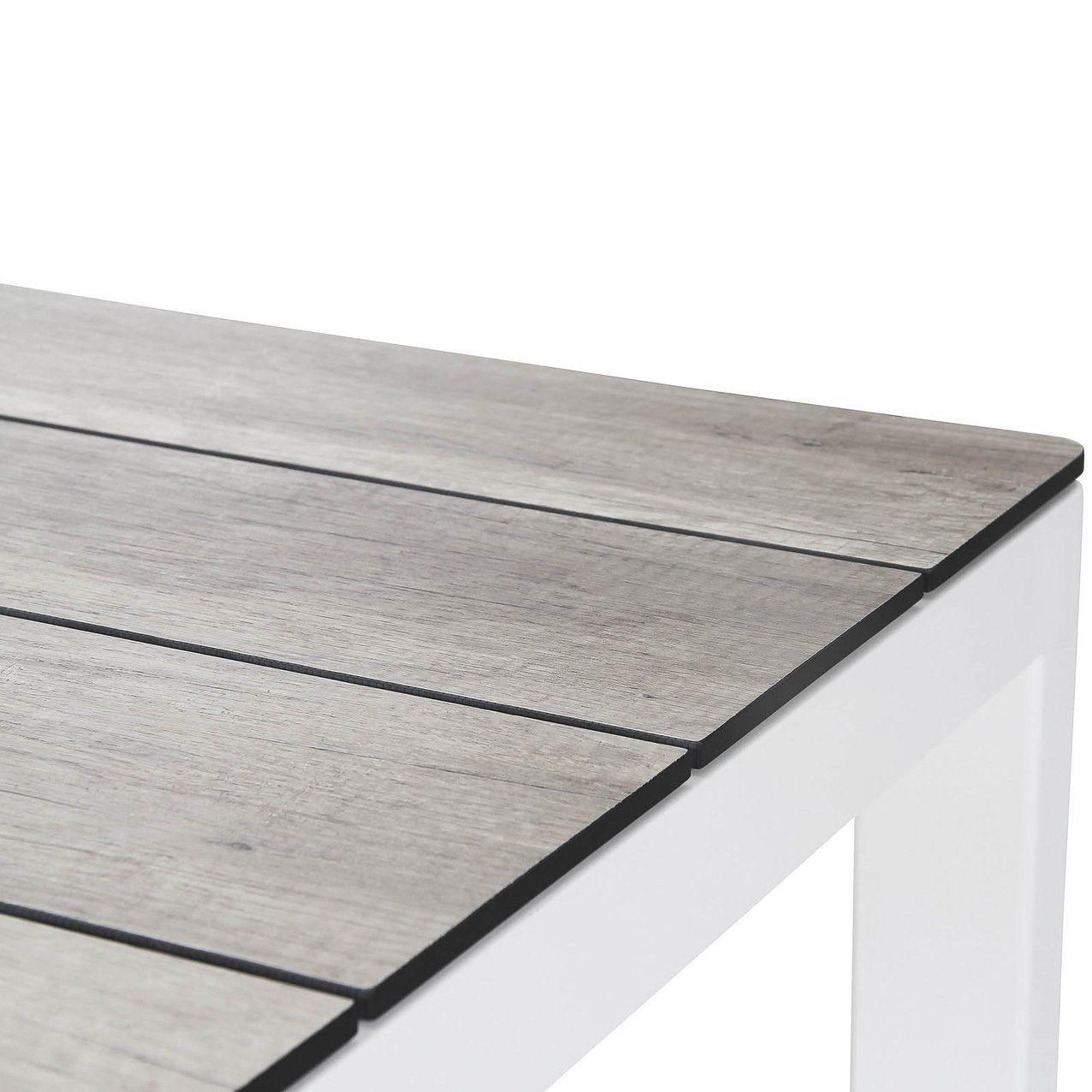 Rodez bordsskiva i grått från Brafab.