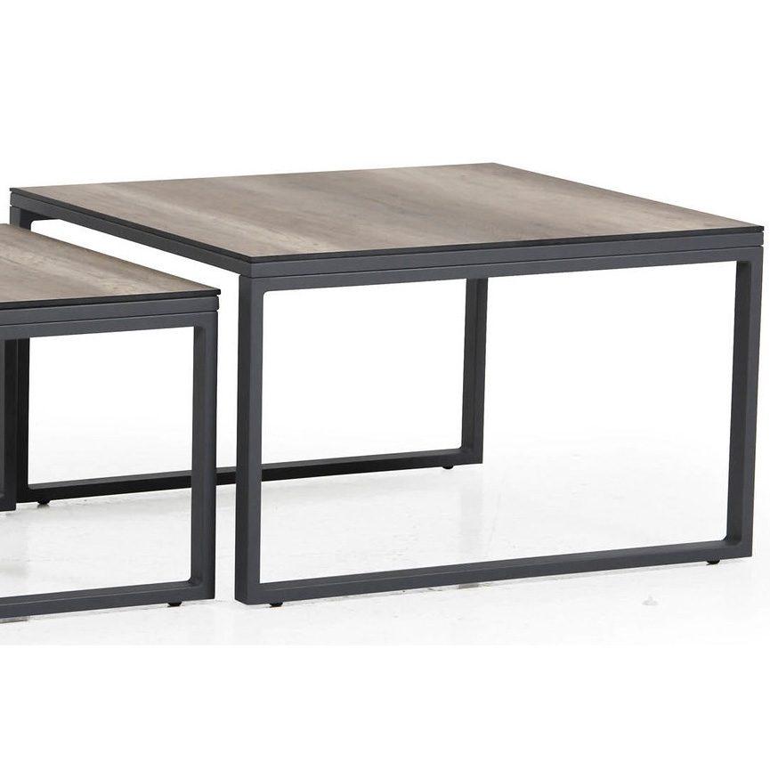 Stort grått Talance-bord från Brafab.
