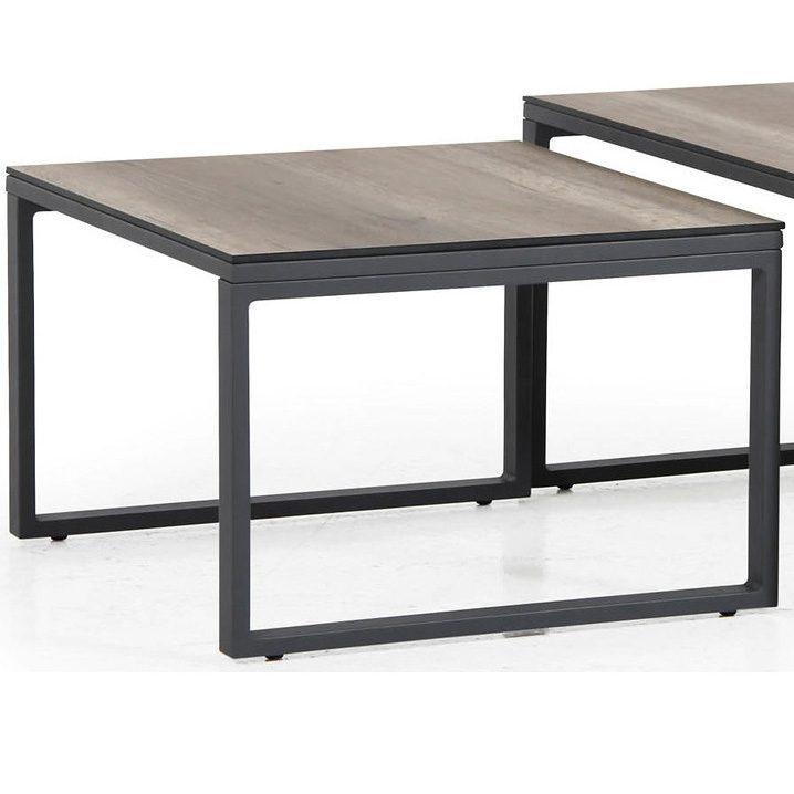 Litet grått Talance-bord från Brafab.