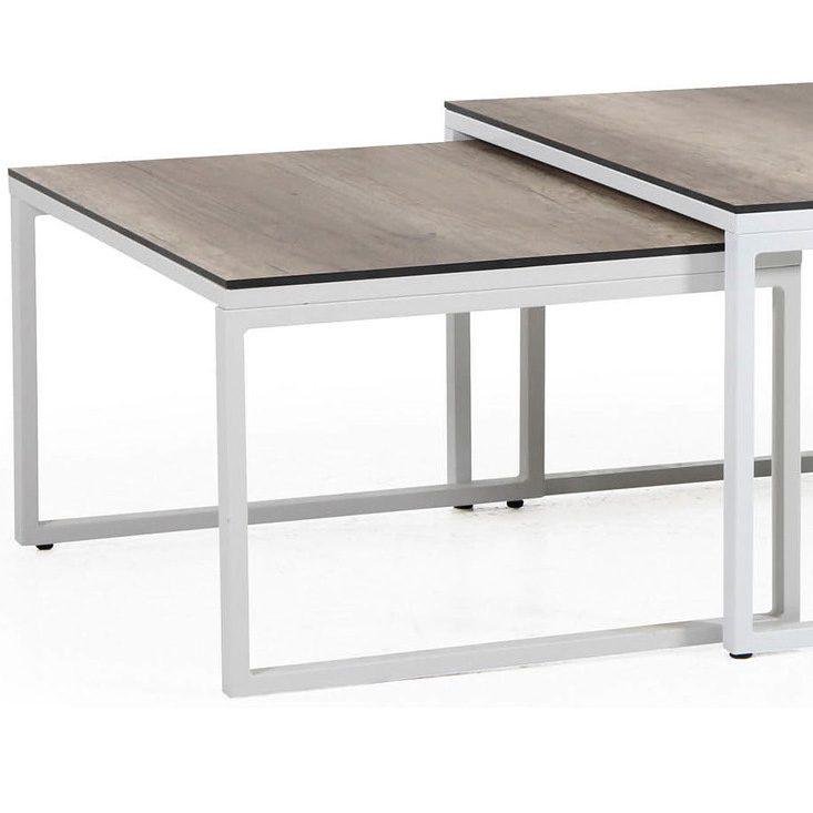 Litet vitt Talance-bord från Brafab.