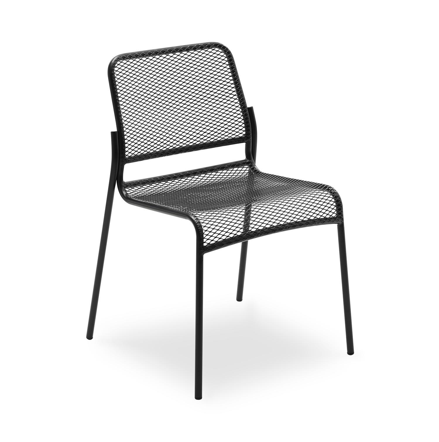 Mira stol från Skagerak i antracitgrått.