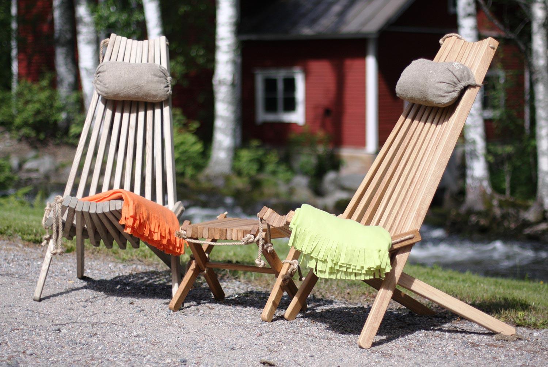 EcoChair är en helt igenom ekologisk stol från finska EcoFurn!
