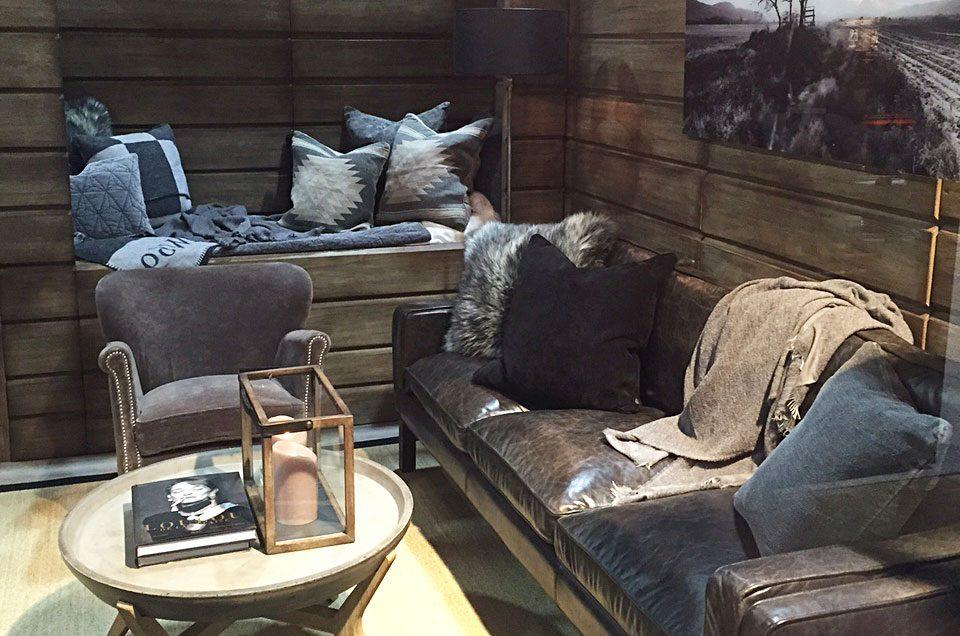 Imesh soffa från Artwood tillsammans med Tonga soffbord.