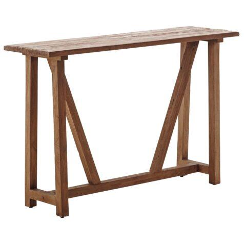 Konsolbord i återvunnen teak från Sika Design.