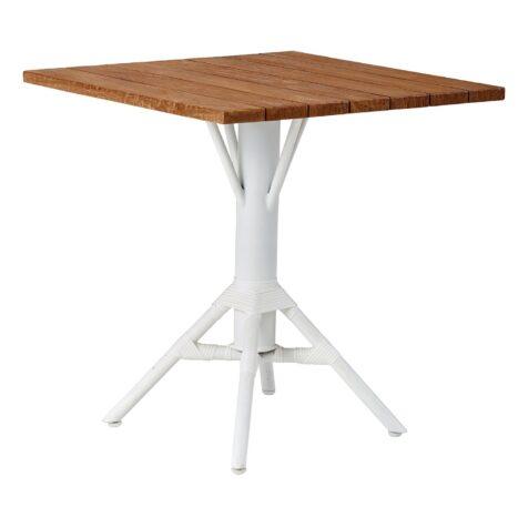 Nicole cafébord 70x70 cm och 80x80 cm.