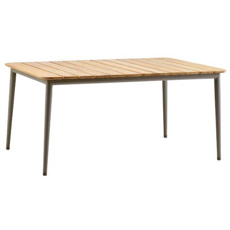 Core matbord i storleken 160x100 cm i taupe.