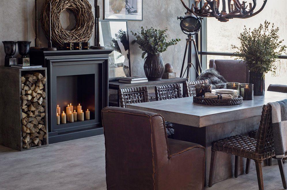 Campos matbord med Aspen matstol från Artwood.
