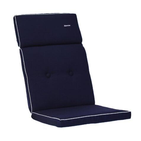 Blå positionsdyna Selection i Dralon från Fritab