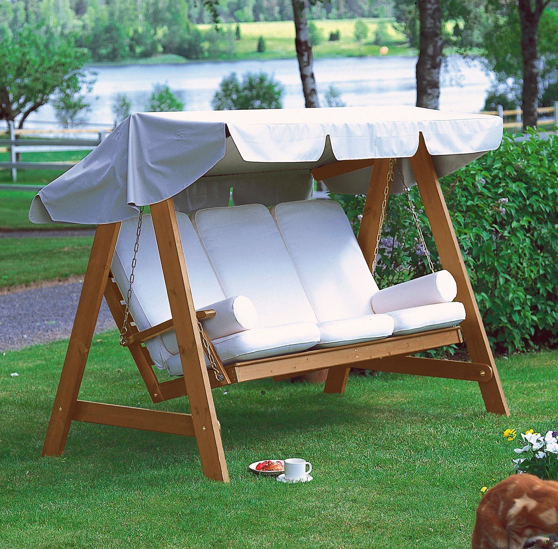 Dalom hammock i kanelfärgad furu från Hillerstorp.