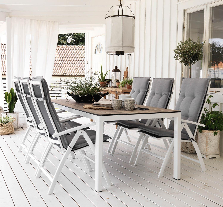 Sunny positionsstol med Rodez matbord från Brafab.