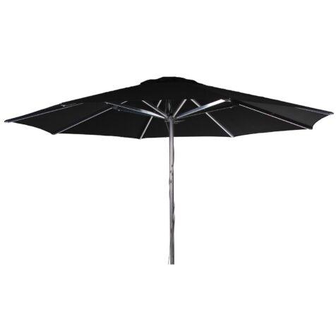 Empoli parasoll i svart med diametern Ø 3,5 m från Brafab.