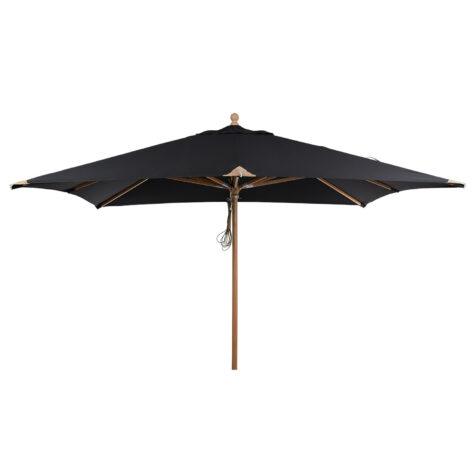 Brafab Como parasoll svart 300x300 cm
