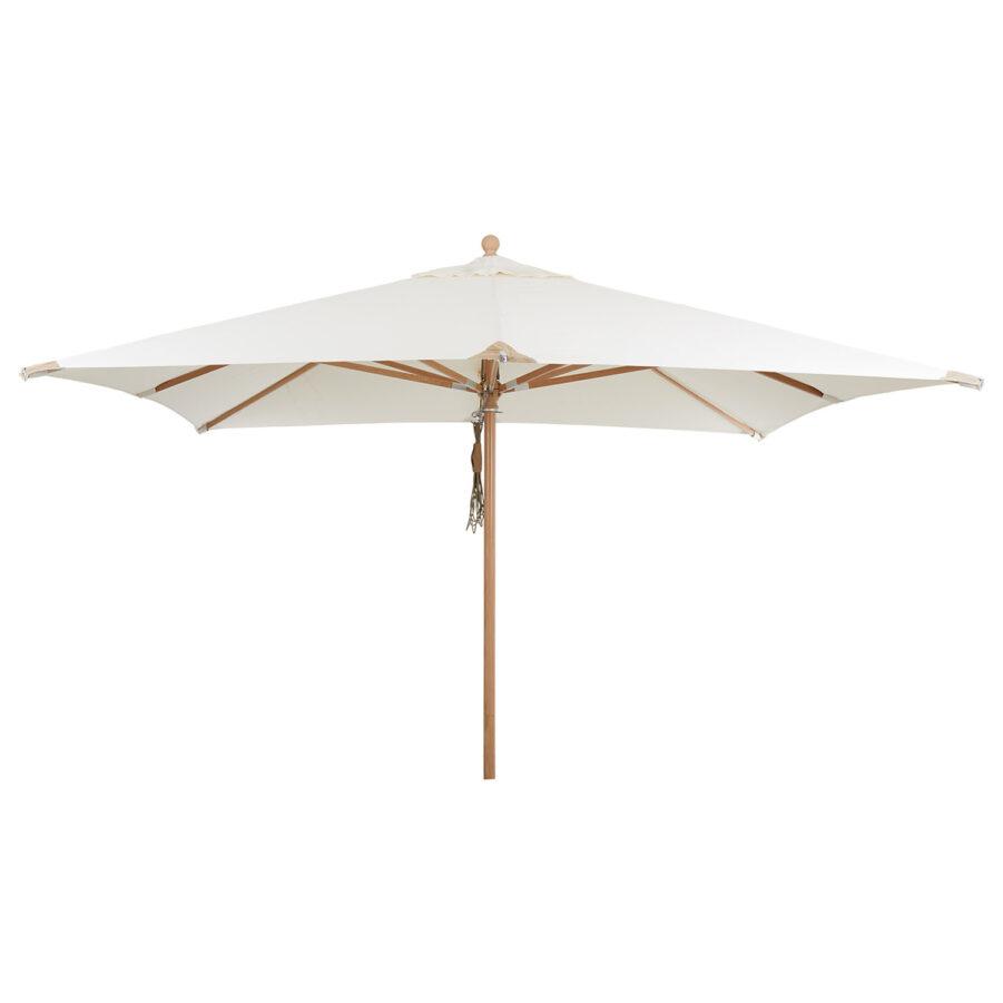 Brafab Como parasoll natur 300x300 cm