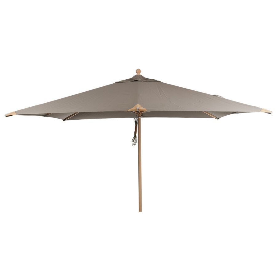 Brafab Como parasoll taupe 300x300 cm