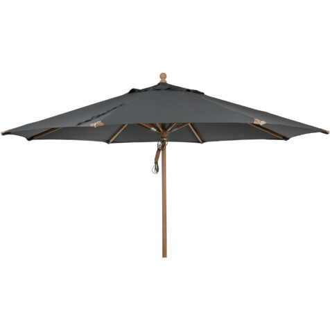 Brafab Parma parasoll Ø350 cm grå