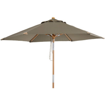 Trieste parasoll taupe Ø250 cm