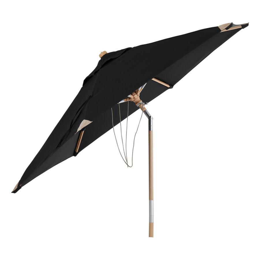 Brafab Trieste parasoll Ø250 cm svart