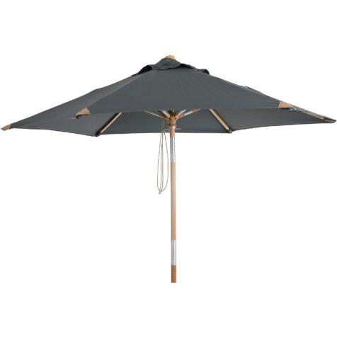 Brafab Trieste parasoll Ø250 cm grå