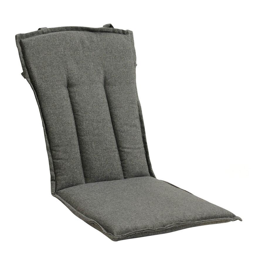 Brafab Ninja karmstolsdyna antracitgrå polyester