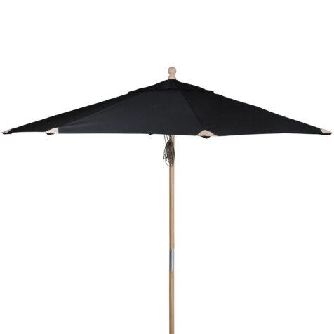 Reggio parasoll i färgen svart.
