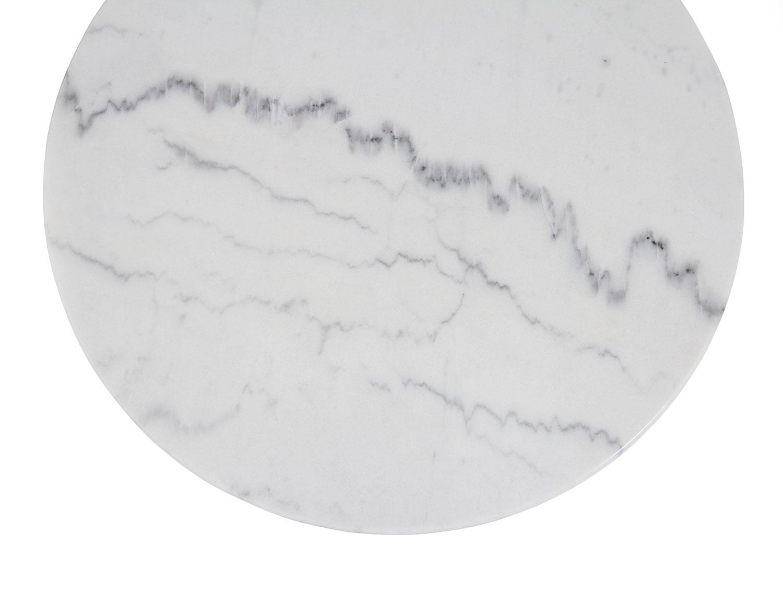 Marmorskiva från Brafab i vitt/ljusgrått.
