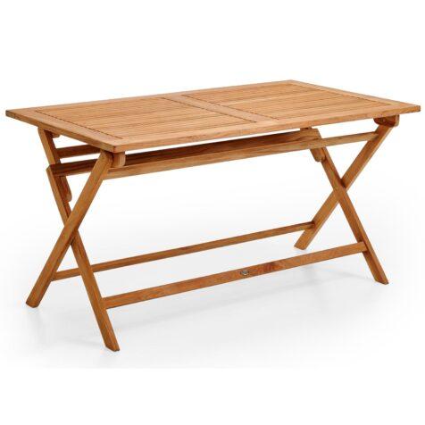 Turin matbord 140x80 cm i teak från Brafab.