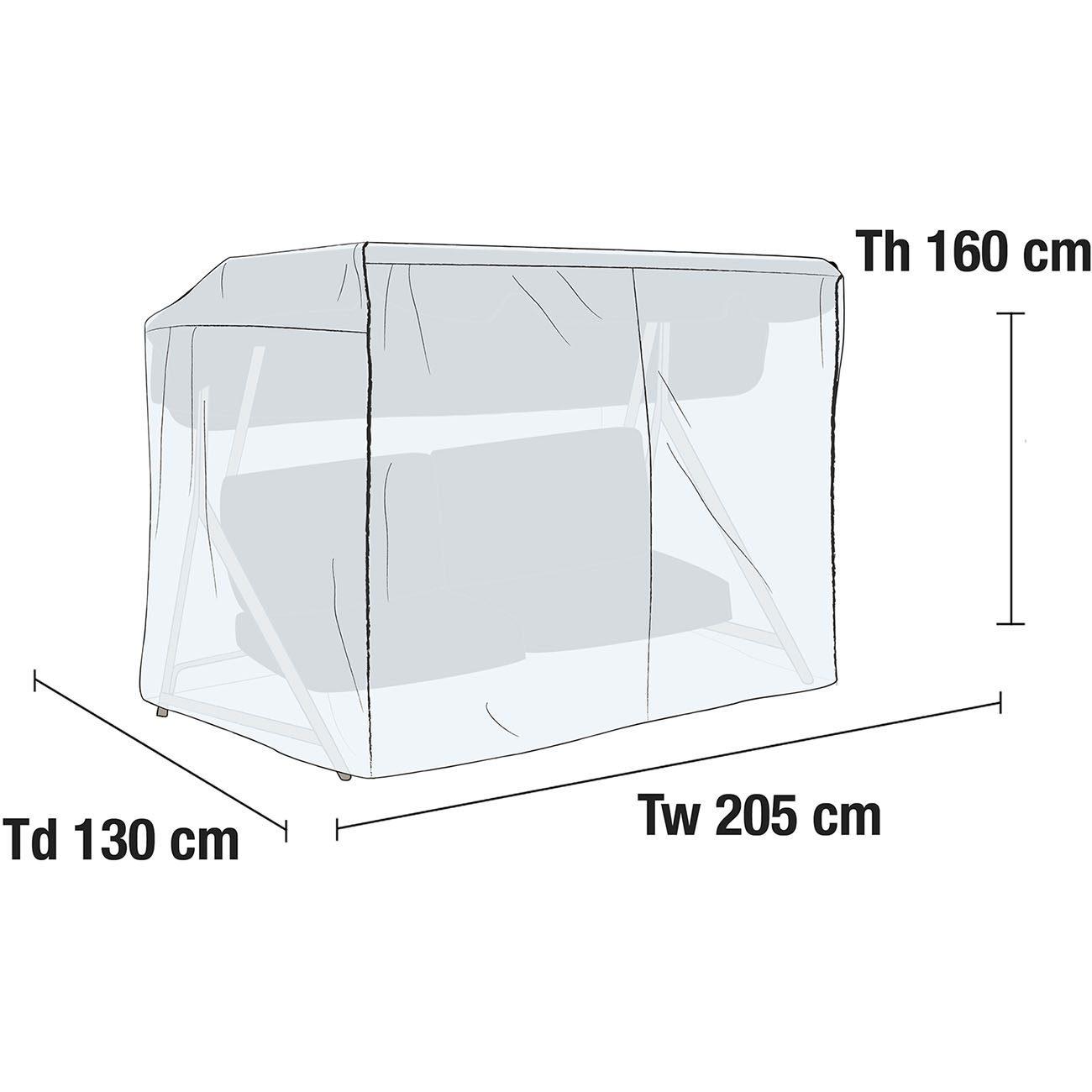 Hammockskydd i transparent PVC-plast från Brafab.