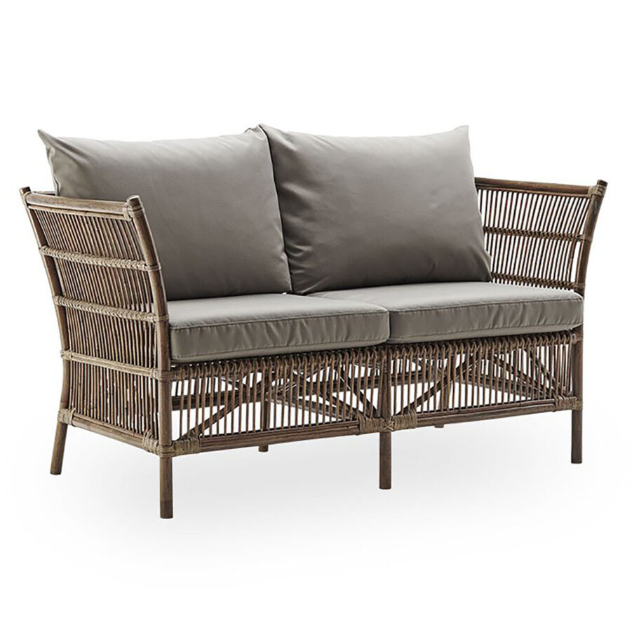 Sika design Donatello soffa 2-sits antik inkl. dyna