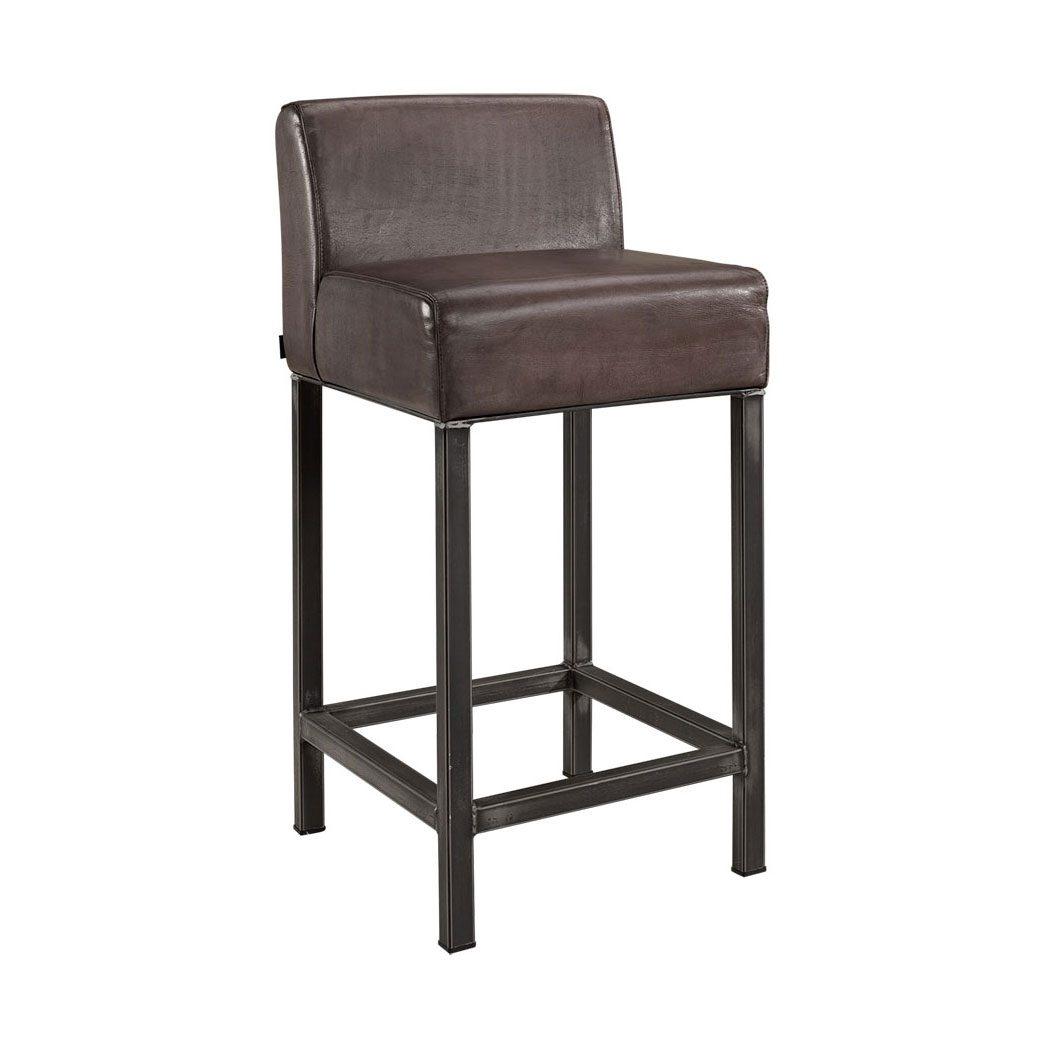 Stacey barstol från Artwood i buffalo leather lampré.